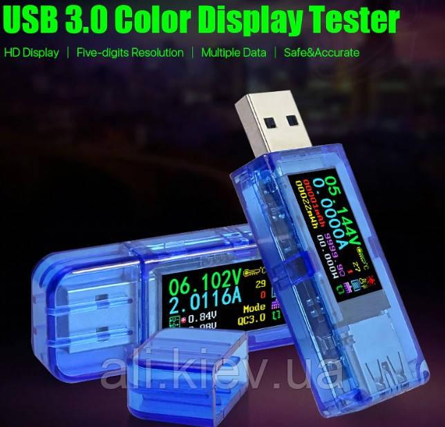 USB Тестер павербанка , тест аккумуляторів на ємність