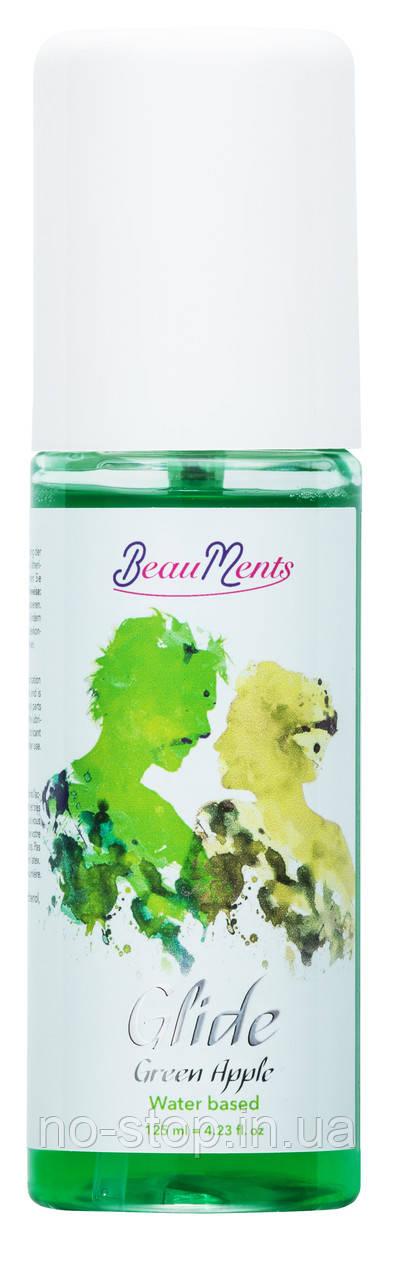 Любрикант с запахом яблока BeauMents Glide Green Apple 125 ml