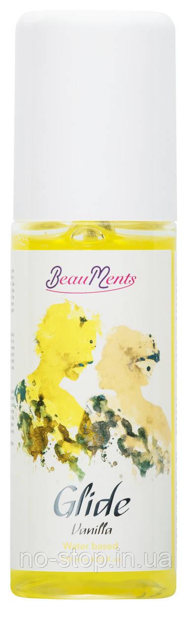 Лубрикант с запахом BeauMents Glide Vanilla125 ml