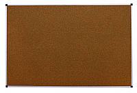 Доска аудиторная, одинарная, пробковая – 2000x1000 мм