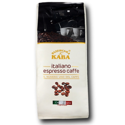 "Кофе в зернах ""Віденська кава Italiano Espresso Coffee"" 1кг. Украина"