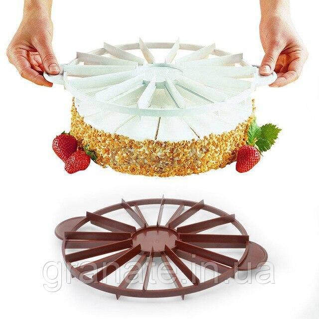 Делитель - маркер для торта d= 28 см на 10/12 частей