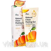 Натуральный пилинг-скатка с экстрактом абрикоса Ekel Apricot Natural Clean Peeling Gel180 мл