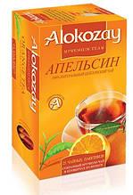 Чай черный цейлонский Апельсин Alokozay, 25 пак