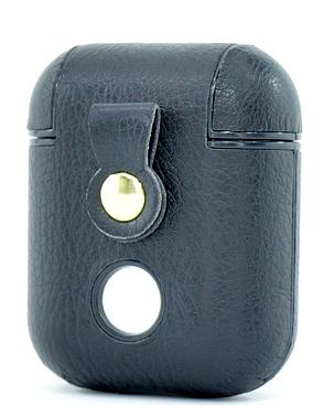 Чехол NZY для наушников Apple AirPods с карабином Sport series Найк Черный (123183), фото 2