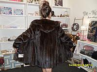 Норковая шуба с капюшоном магазин норковых шуб в Харькове натуральная норка норковая шуба из норки 44 размер М