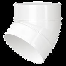 Отвод вентиляционный 121-45 D=100мм пластик