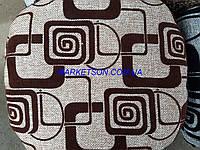 Чехлы на табуретки комплект 4 шт на резинке (сидушка на табурет, стул) №4
