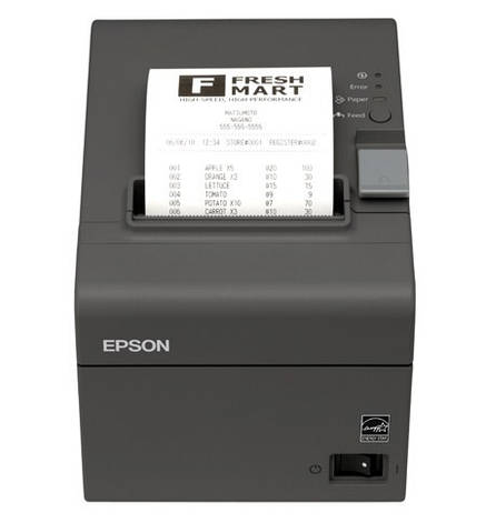 POS-принтер Epson TM-T20 Ethernet, фото 2