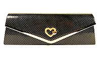 Клатч лаковый женский Rose Heart 102510 , фото 1