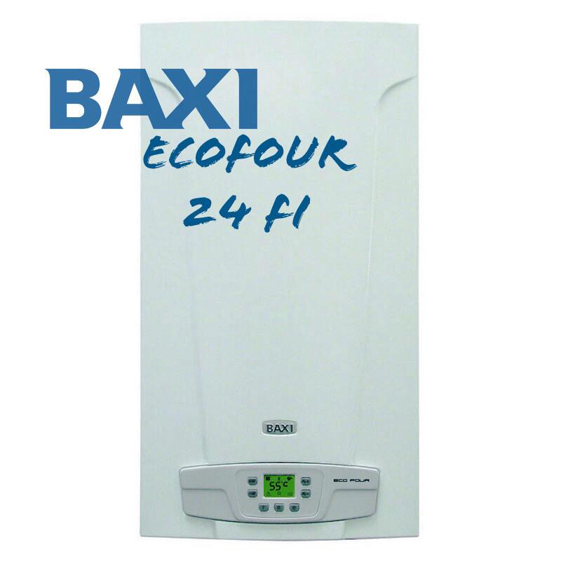 Котел газовый двухконтурный (настенный) Baxi EсоFour 240i (дымоходный)