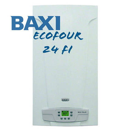 Котел газовый двухконтурный (настенный) Baxi EсоFour 240i (дымоходный), фото 2