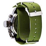 AMST 3003 Black-Black Green Wristband, фото 2