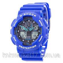 Casio G-Shock GA-100 Blue-Black