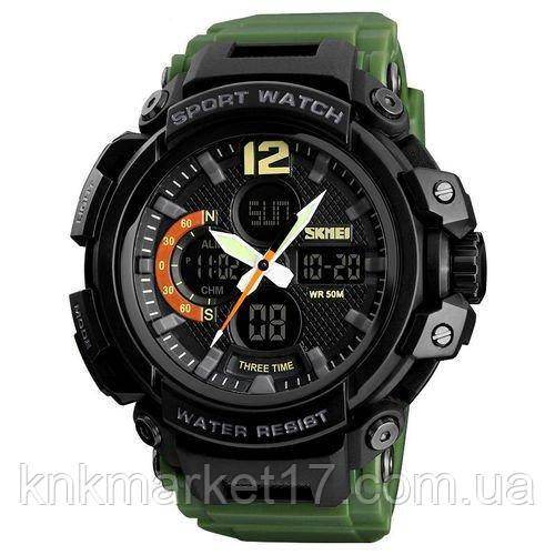 Skmei 1343 Black-Militari Wristband