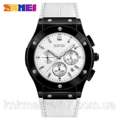 Skmei 9157 White-Black-White