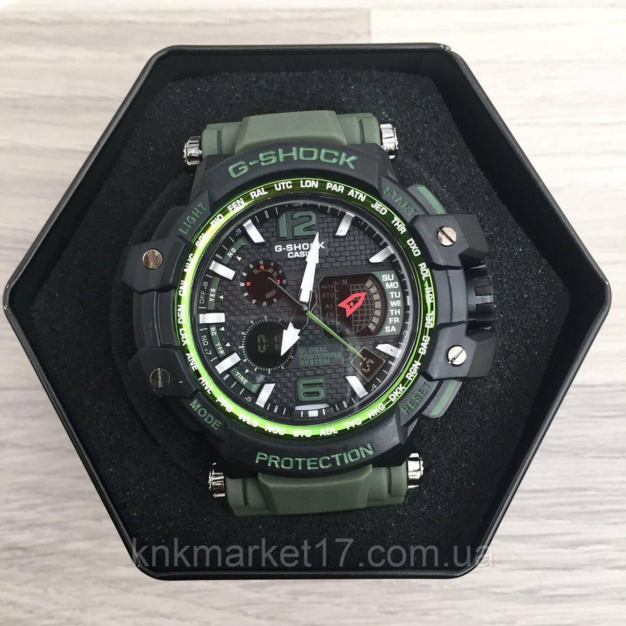 Casio G-Shock GPW-1000 Black-Green