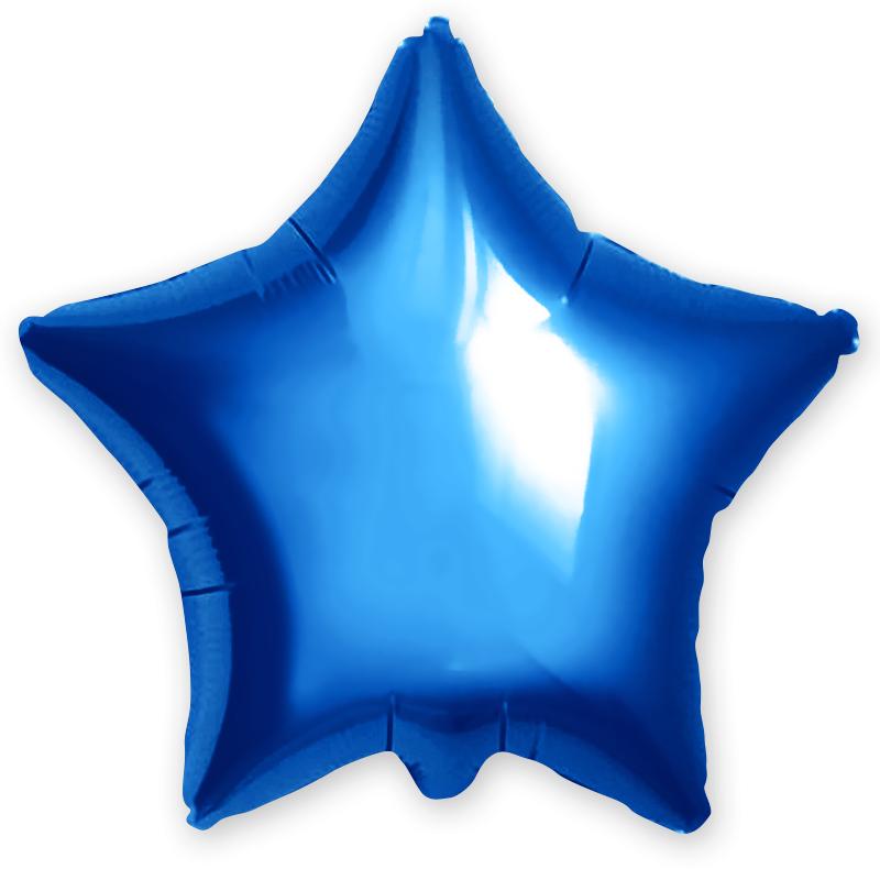 Agura Фольгированный Шар 21''/53 см, Синий