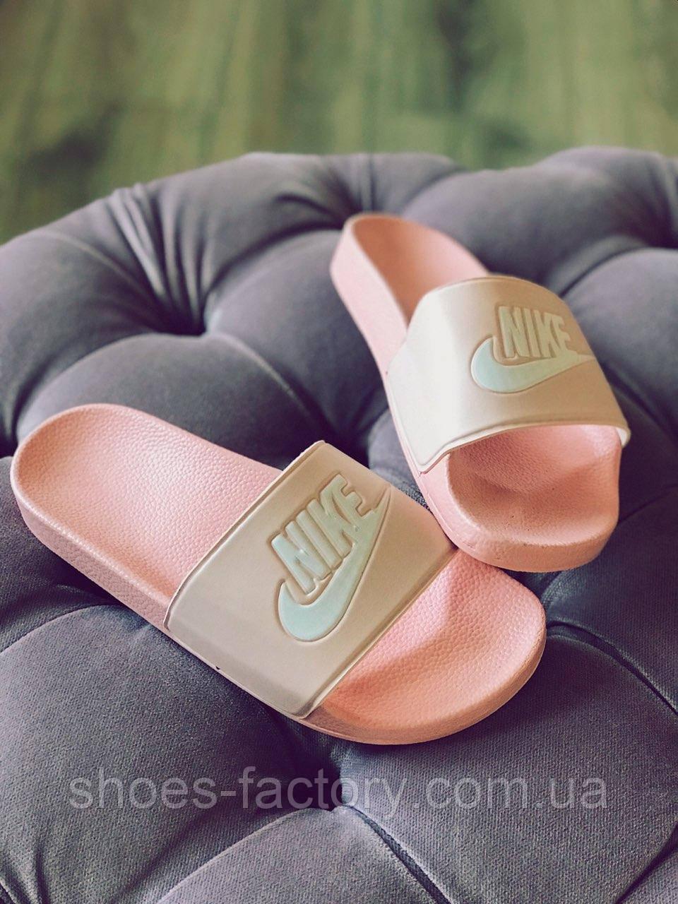 06bc06859 Женские шлепки, сланцы в стиле Nike Benassi - Интернет магазин спортивной обуви  Shoes-Factory