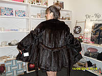 Норковая шуба с поясом в Харькове натуральная норка шуба из норки 44 46 размер рассрочка 0%