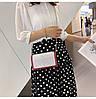 Красная лаковая женская сумка, фото 5