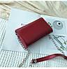Красная лаковая женская сумка, фото 10