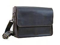 Мужская кожаная сумка для документов А4 GS коричнева