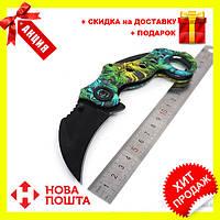 Качественный нож Керамбит череп SOG Karambit для самообороны или туризма, фото 1