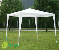Шатер, павильон садовый белый 3х3 метра