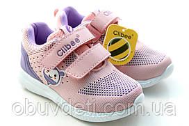 Качественные кроссовки clibee для девочек 30р. по стельке 19 см