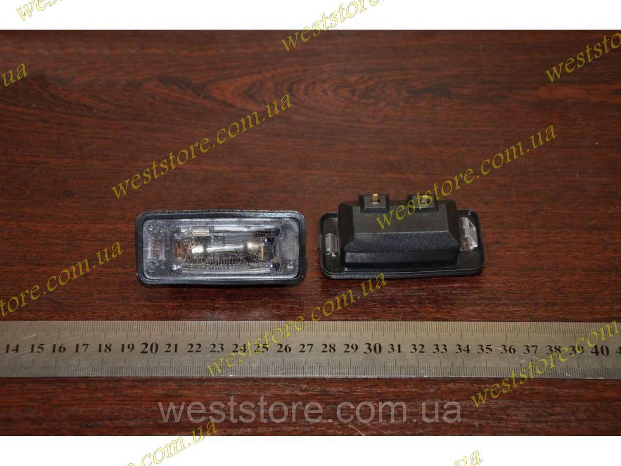 Подсветка заднего номера Ваз 2108 2109 нового образца