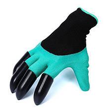 Многофункциональные Садовые Перчатки с когтями для пальцев, Садоводческие перчатки для растений Plant Gloves, фото 2