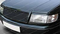 Реснички для  Audi A6 C4, накладки на фары Ауди А6 Ц4 1994-1997 г.в. , фото 1