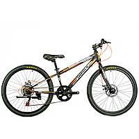 """Велосипед IMPULS COLORADO 24"""" Рама 11.5"""" черно-оранжевый"""