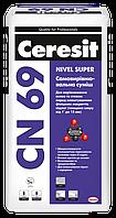 Самовыравнивающая смесь Ceresit CN69 25кг (1-15мм)