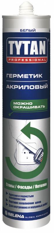 Tytan EURO-LINE Акрил  белый 290мл
