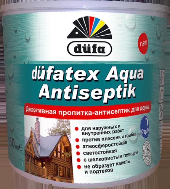 Дюфатекс аква антисептик 2.5л Белый