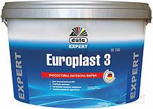 Краска Europlast 3 DE 10л мат