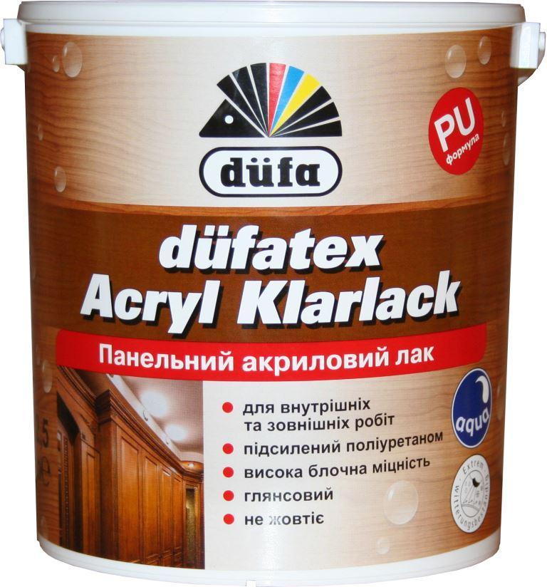 Лак панельный акриловый Klarlack 2,5л