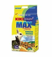 Корм для грызунов KIKI Classic декоративные кролики,800 грамм