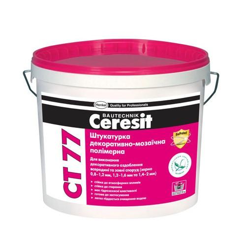 Штукатурка мозаичная Ceresit СТ 77 CHILE 4 (1,4-2,0mm) 14кг