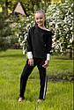 Школьная блуза для девочек sh-49 Barbarris Размеры 134-164, фото 7