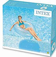 Надувной круг Intex 56264 с ручками 114 см