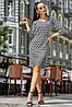 ✔️ Летние платье с длинным рукавом 24-50 размера черное
