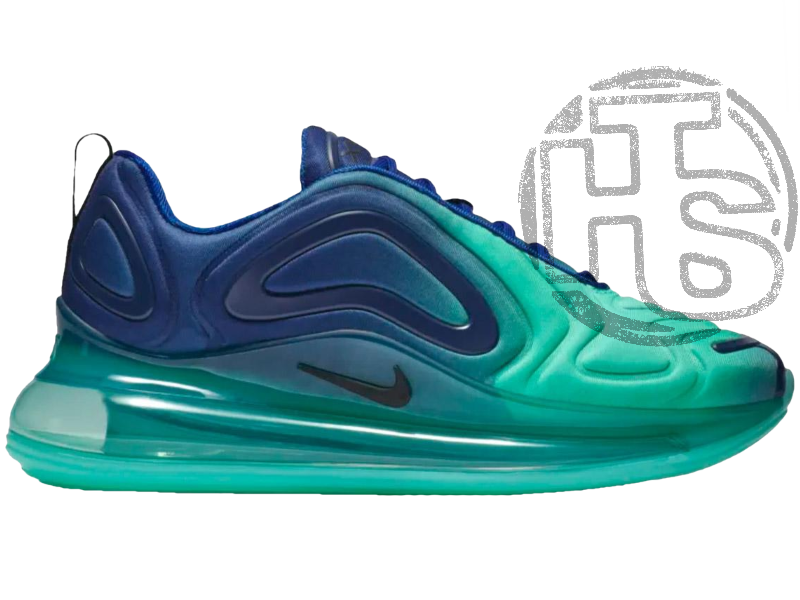 Женские кроссовки Nike Air Max 720 Sea Forest Blue/Black-Hyper Jade AO2924-400
