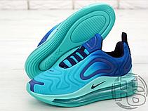 Женские кроссовки Nike Air Max 720 Sea Forest Blue/Black-Hyper Jade AO2924-400, фото 3