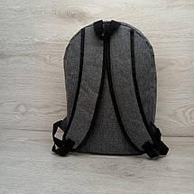 Рюкзак спортивний міської Reebok чоловічий сірий, фото 2