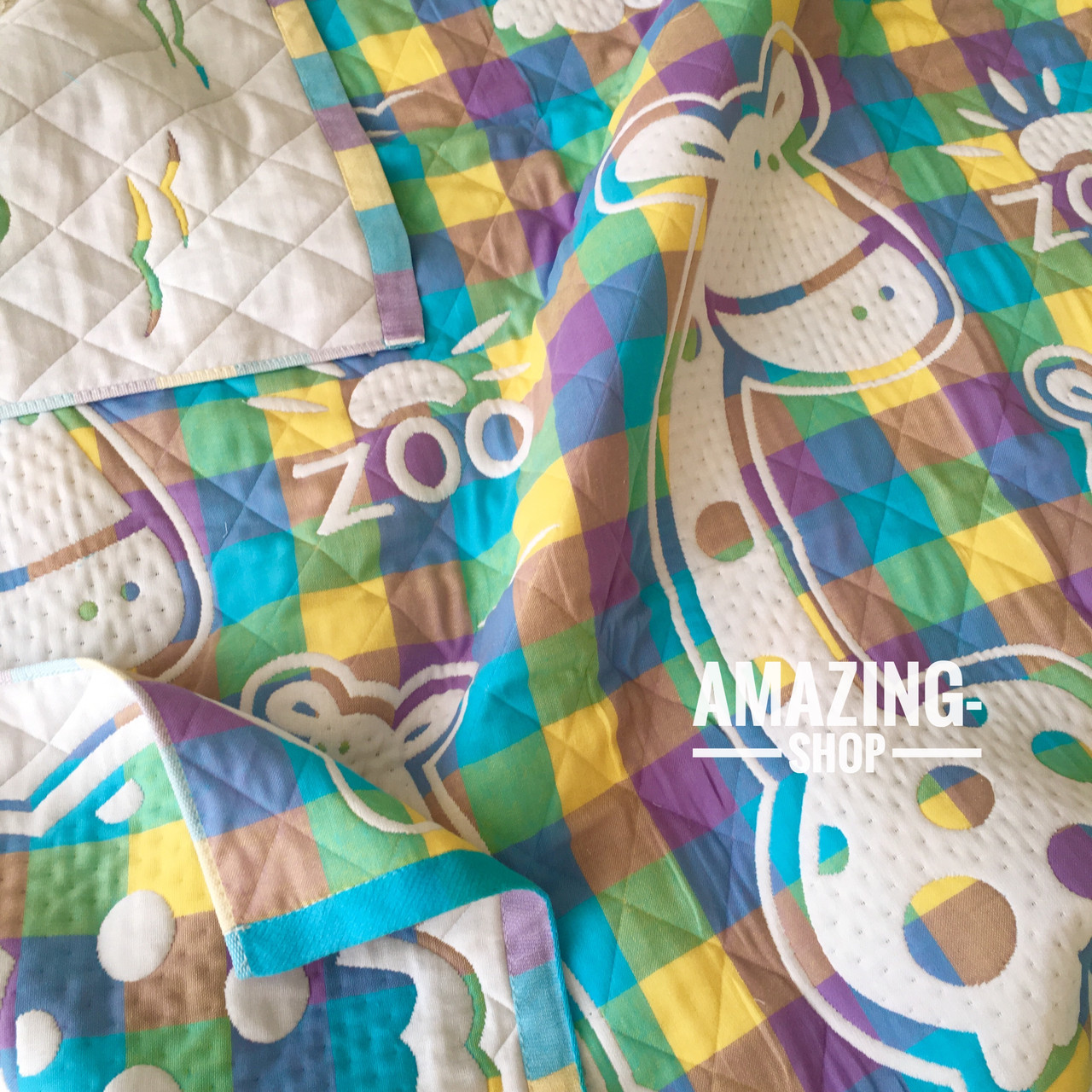 Дитяче ковдру | простирадло | плед натуральний | льон , бавовна | Дитяче літнє одіяло, простинь. Розмір 110*110см.