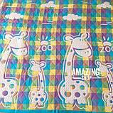 Дитяче ковдру | простирадло | плед натуральний | льон , бавовна | Дитяче літнє одіяло, простинь. Розмір 110*110см., фото 3