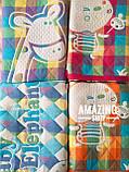 Дитяче ковдру | простирадло | плед натуральний | льон , бавовна | Дитяче літнє одіяло, простинь. Розмір 110*110см., фото 5
